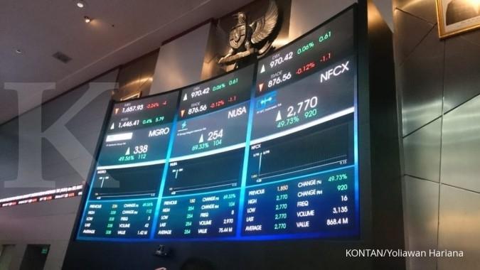 Melantai perdana, saham NFC Indonesia (NFCX) naik 49,73% di batas auto rejection