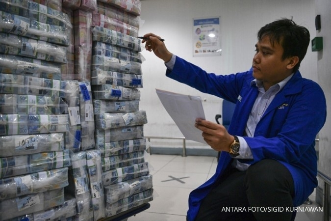 Rupiah goyah terimbas risk aversion