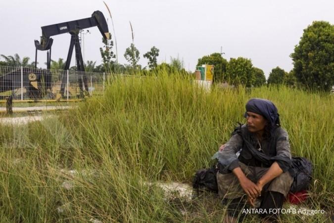 ILUSTRASI. Chevron Pacific Indonesia bakal terus melanjutkan investasi pada Blok Rokan hingga 2021 mendatang atau saat alih kelola.