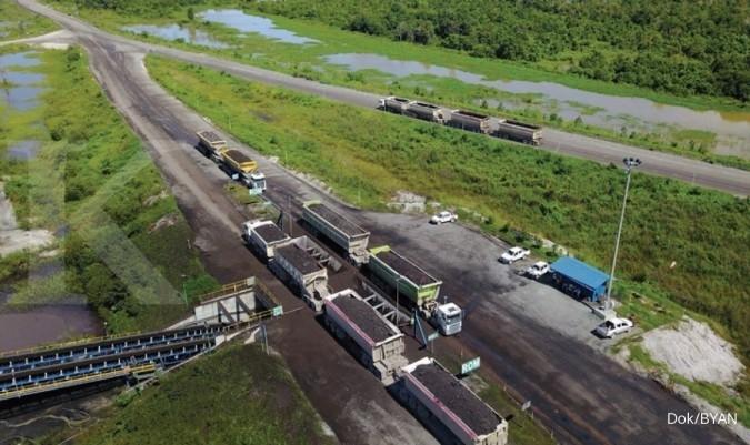 Harga batubara lesu, laba bersih Bayan Resources (BYAN) turun 55,36% pada tahun 2019