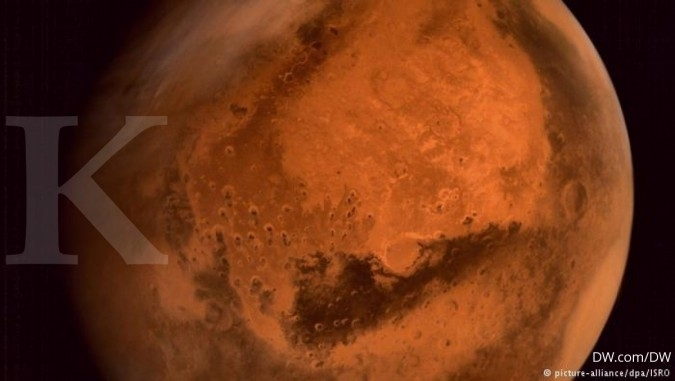 NASA Ilmuwan Italia: Mars punya danau bawah tanah berisi air