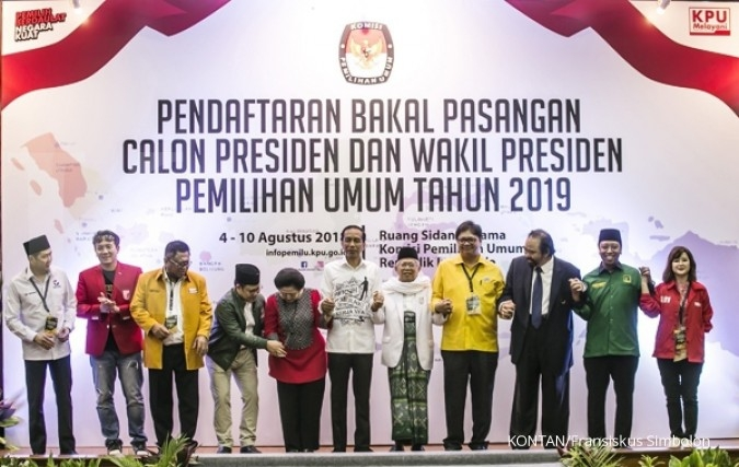 Jokowi - Ma'ruf Amin masih susun tim ekonomi