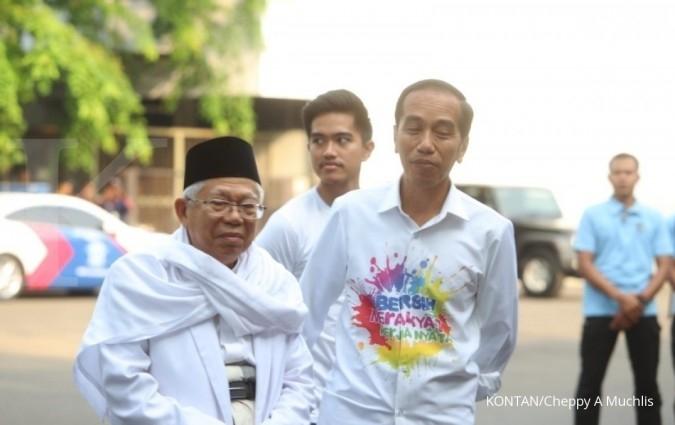 Jalani tes kesehatan, Joko Widodo-Ma'ruf Amin didampingi anak-anaknya