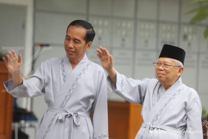 Jokowi-Ma'ruf Amin pede jika isu ekonomi akan diangkat saat Pilpres nanti