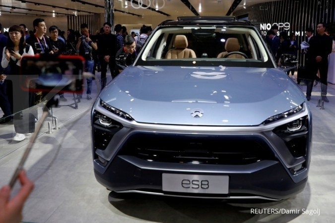 NIO Inc siap menyaingi Tesla di bursa AS