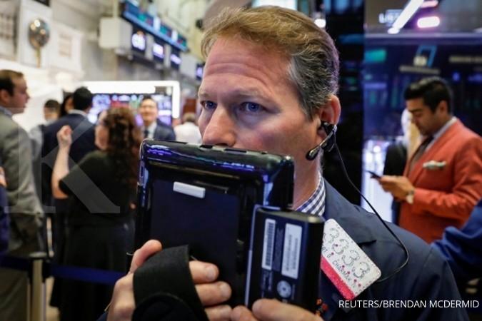 Dow Jones naik lagi, bursa tenang mengamati perang dagang AS-China