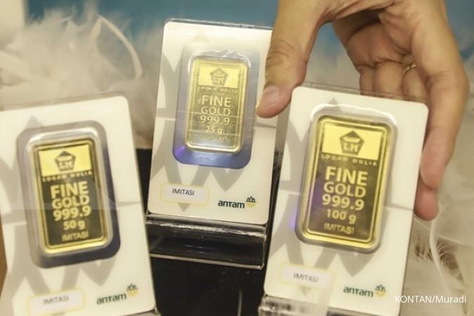 Harga Emas Antam Menutup Agustus Di Rp 647000 Per Gram