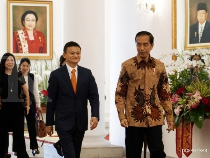 Jokowi asks Jack Ma to invest more in Indonesia