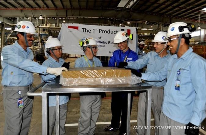 Tahun depan, Chandra Asri mengoperasikan pabrik karet sintetis