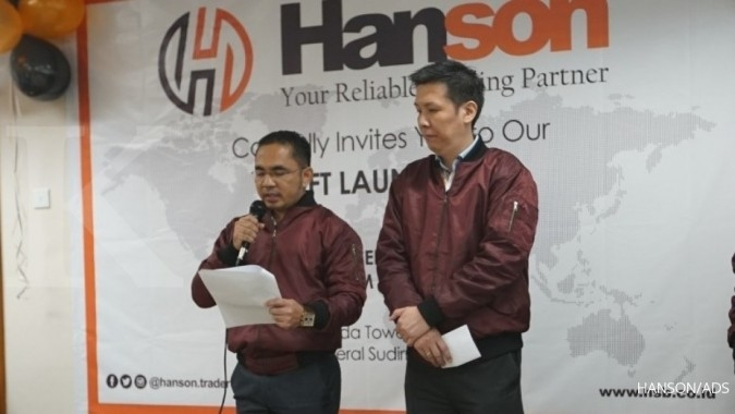 Grand Launching Aplikasi Hanson Trader