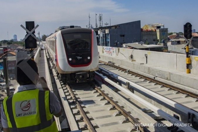 Jakarta LRT to operate in early 2019: Anies