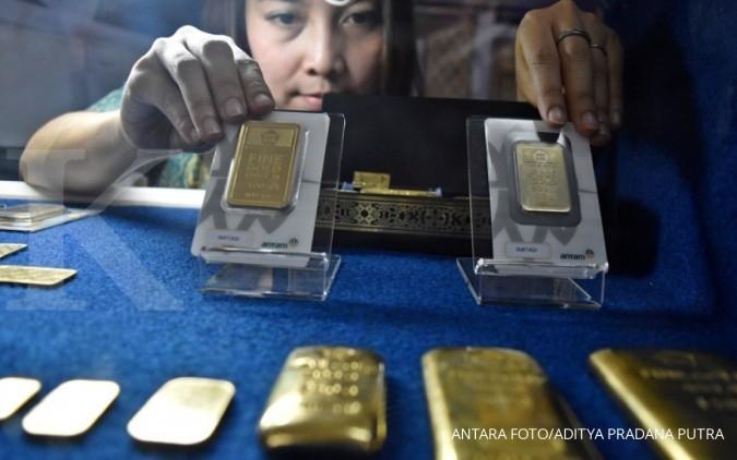 ANTM BJBR Antam gandeng BJB Syariah memasarkan logam mulia