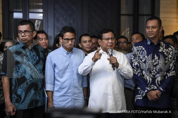 Bumbu pemanis dalam pertemuan Kuningan, Prabowo rangkul Andi Arief