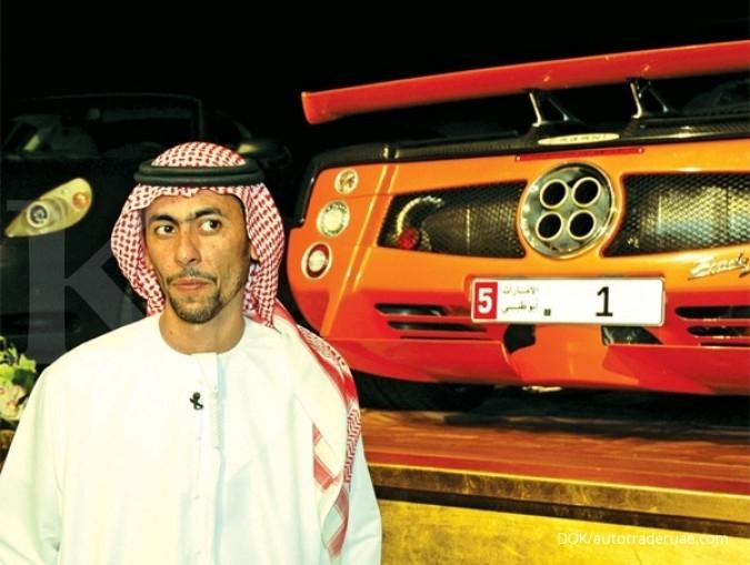 5 Plat nomor mobil termahal di dunia
