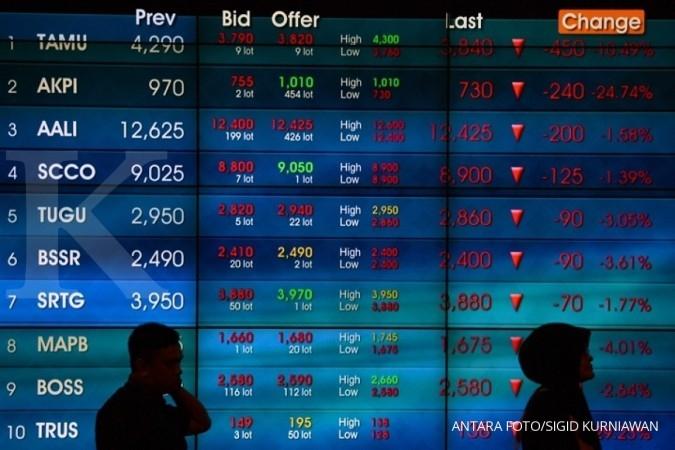 Cermati rekomendasi teknikal saham ELSA, BTPN, ACES