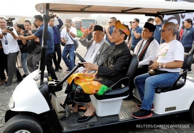 Ini visi misi Jokowi-Ma'ruf Amin pilpres 2019