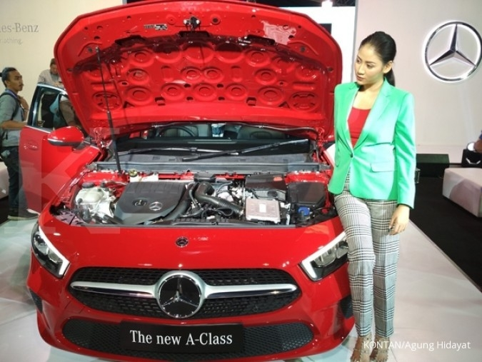 Mercedes Indonesia optimis tumbuh dobel digit tahun ini