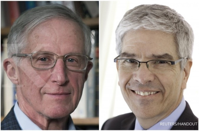 William Nordhaus dan Paul Romer, pemenang Nobel Ekonomi 2018