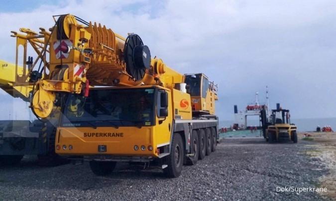 SKRN Superkrane mengantongi kontrak baru Rp 40 miliar