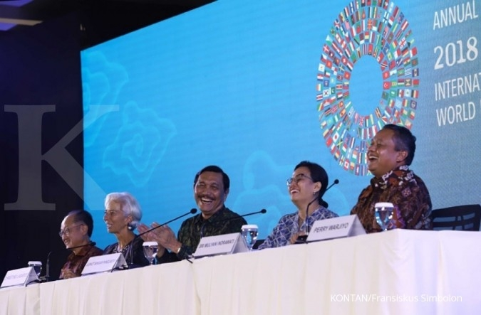 Kenang annual meeting 2018 IMF-World Bank di Bali, ini kata Sri Mulyani