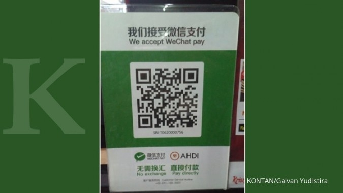 Pemprov Bali menindak merchant yang menggunakan WeChat Pay dan Alipay