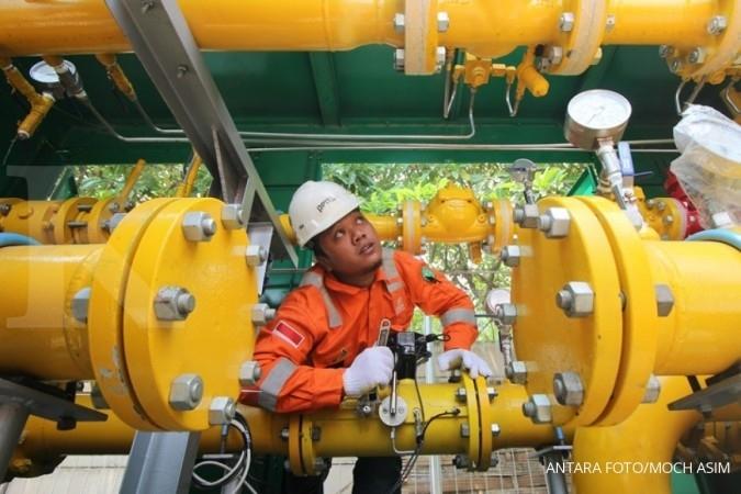 Harga gas industri turun, pembangunan infrastruktur gas diprediksi melambat