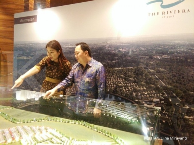 Kuartal I, proyek Riviera dorong marketing sales Metropolitan Land