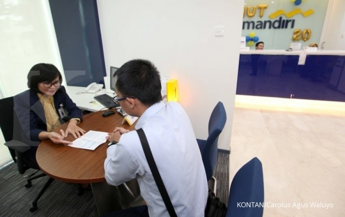 BJTM BMRI Kredit konstruksi Bank Mandiri naik 50,4%, sementara Bank Jatim cuma tumbuh 5,2%