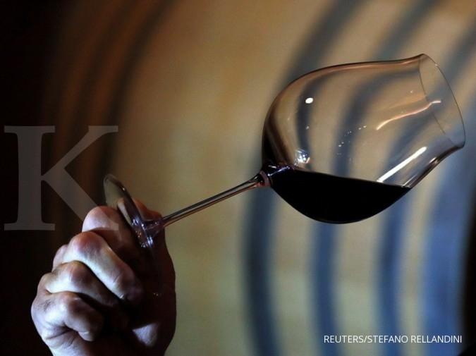 Ternyata, minum wine bisa cegah sakit tenggorokan dan plak di gigi