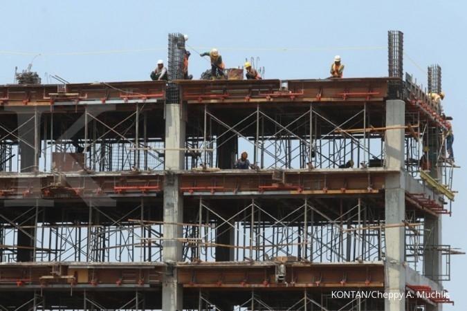 ACST TOPS TOTL Para perusahaan konstruksi swasta masih belum mencapai target