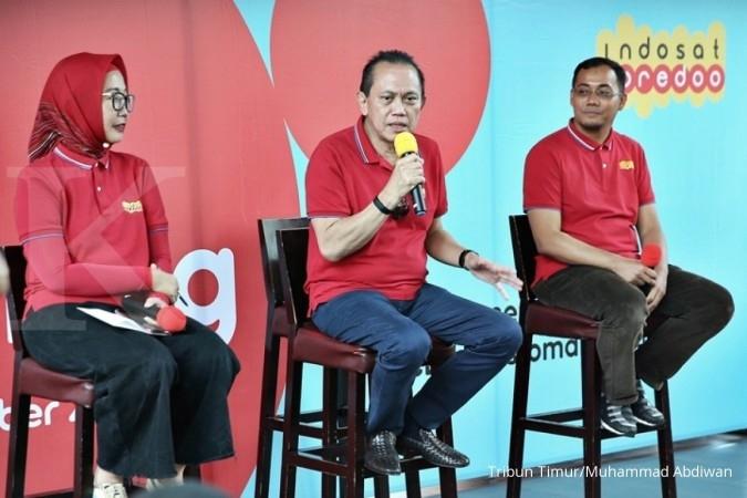 ISAT Ketinggalan dengan pesaing, Indosat akan rebut kembali posisi kedua pangsa pasar