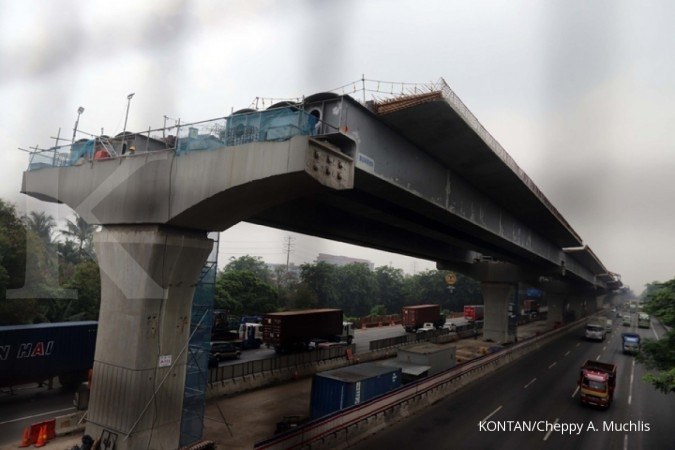 Two infrastructure projects along Jakarta-Cikampek toll road postponed