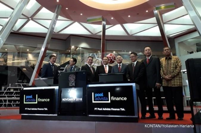 POLA Suspensi saham Pool Advista Finance (POLA) dibuka awal pekan depan