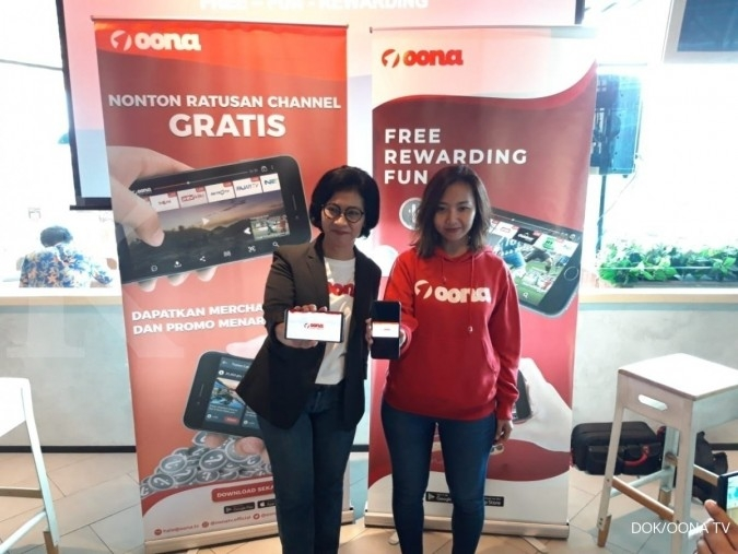 Oona TV kian agresif garap pasar industri hiburan digital