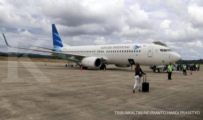 Tarif batas atas pesawat diturunkan, ini rekomendasi analis untuk saham Garuda (GIAA)