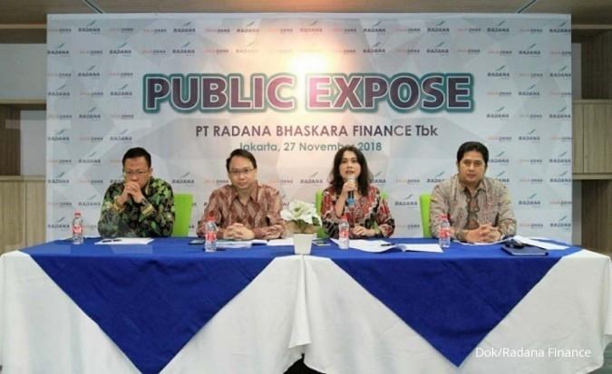 HDFA Gelar RUPSLB, Radana Bhaskara Finance merombak susunan direksi