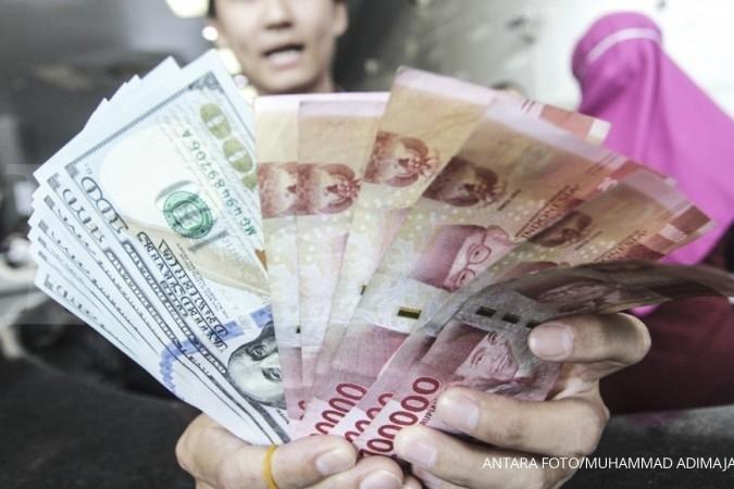 Rupiah melanjutkan pelemahan ke Rp 14.600 per dollar
