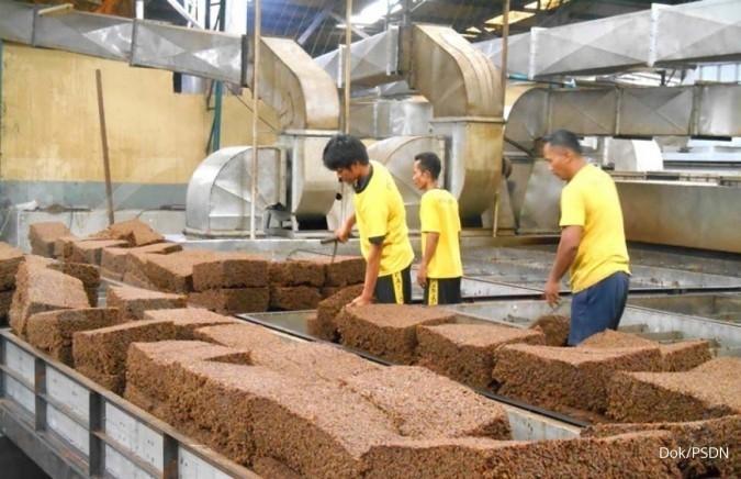 Ekspor karet Prasidha Aneka Niaga (PSDN) diprediksi turun 15%