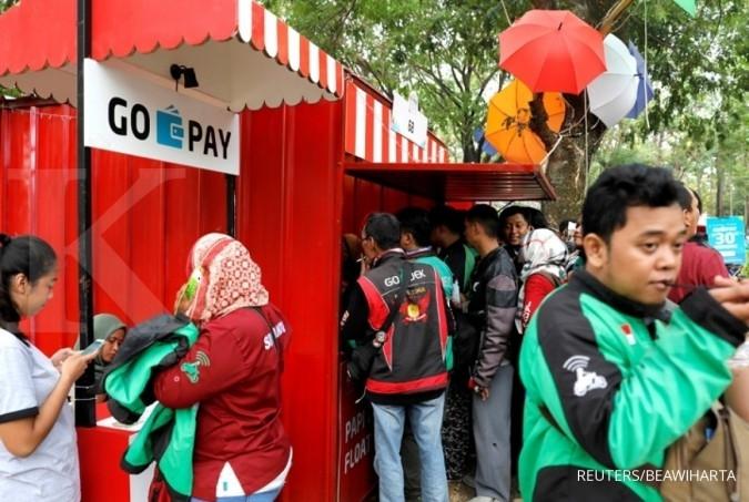 Separuh Transaksi Layanan Go-Jek Dibayar Pakai Go-Pay