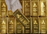Gold dips on profit-taking, but holds above $1,500 on growth woes
