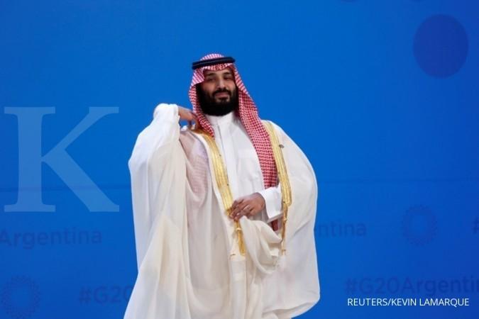 Putra mahkota Arab Saudi Mohammed bin Salman