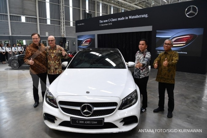 Mercedes-Benz Distribution Indonesia optimis penjualan meningkat dua digit