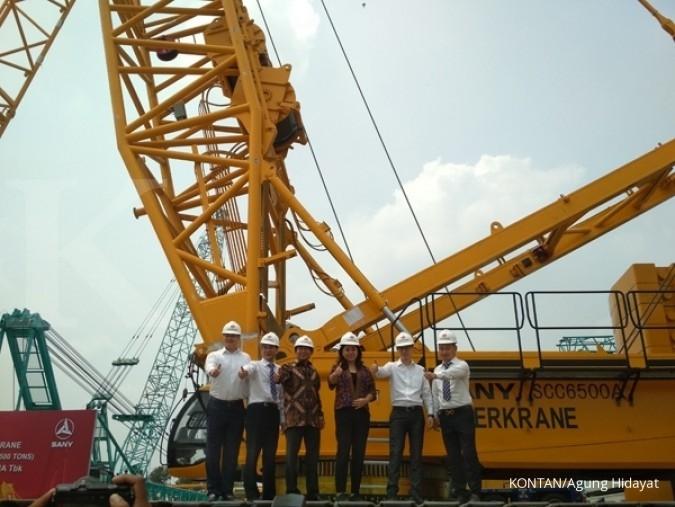 SKRN Permintaan Besar, Superkrane (SKRN) Giat Menambah Crane
