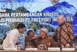 Indonesia officialy controls 51.23 percent of Freeport shares: Jokowi