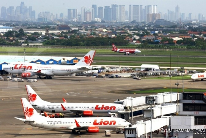 Bulan lalu, Lion Air catat on time performance 80,76%