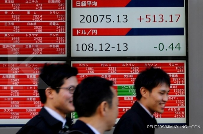Bursa Asia menguat seiring optimisme perundingan dagang AS-China
