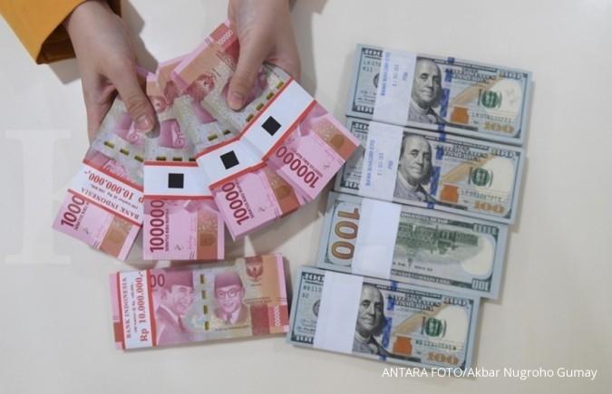 Arus dana asing masih menopang penguatan rupiah
