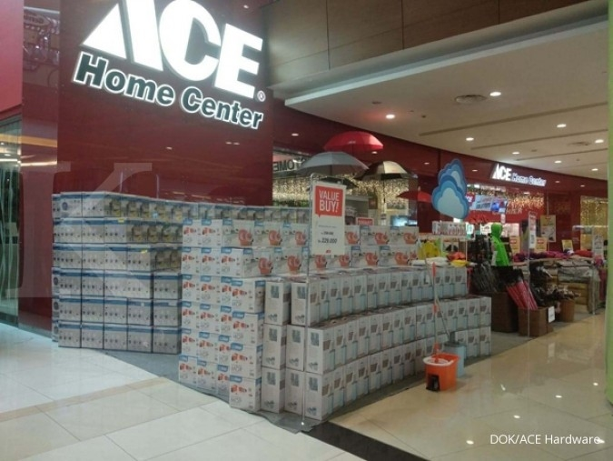 Ace Hardware Indonesia (ACES) tebar dividen Rp 28,25 per saham