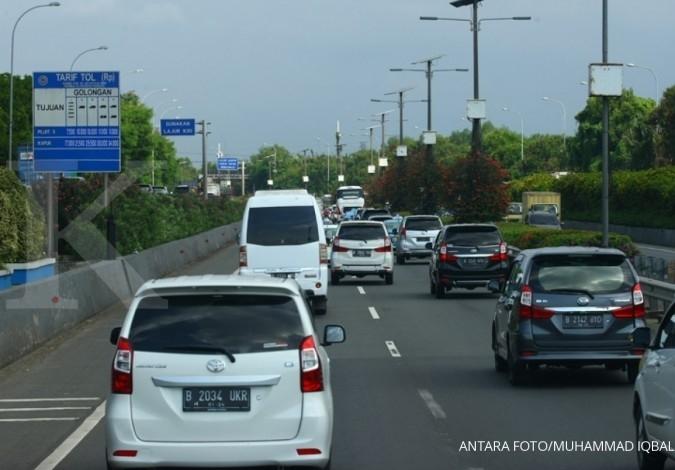 Akses menuju Bandara Soekarno-Hatta macet, Polisi lakukan contraflow