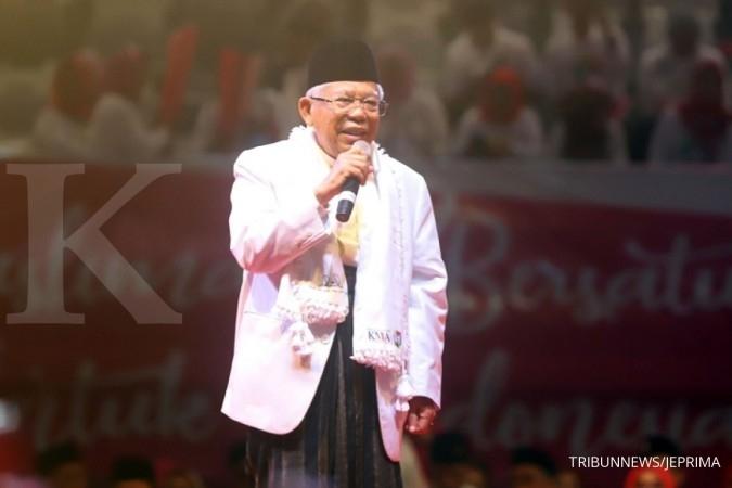 Ma'ruf Amin: Saya menyesalkan orang sekelas Andi Arief terjerat narkoba